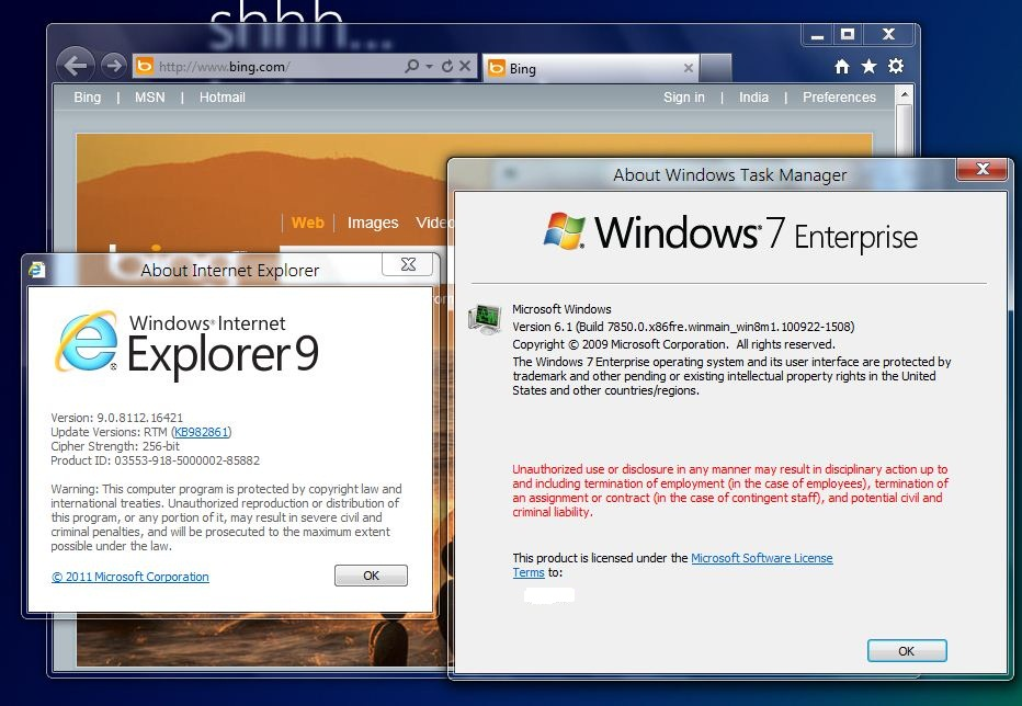 How to install IE9 RTM on Windows 8 Build 7850 – Technology Matters